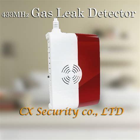 Alarm Wireless Jual Alarm 433 Mhz Gas Detector 433 Mhz Pendeteksi Keb free shipping 433mhz wireless gas sensor co detector