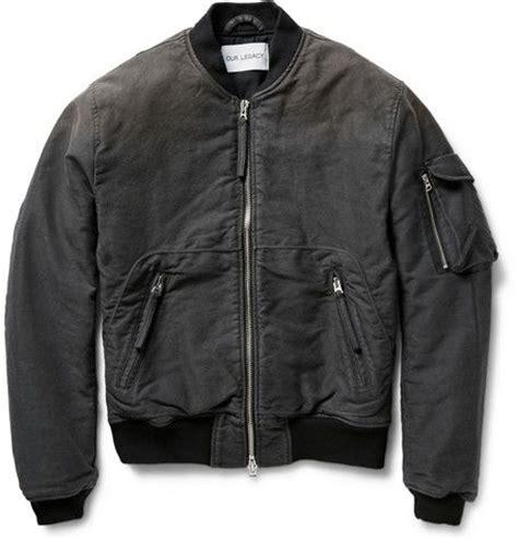 Jaket Bomber Pilot Canvas Marsmello our legacy brushed cotton canvas bomber jacket tops