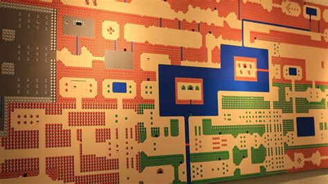 legend of zelda map poster giant nes zelda mural reminds us to never forget about the
