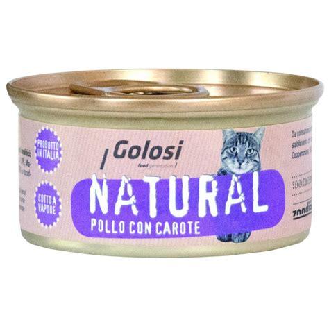 alimenti naturali per gatti golosi cibo umido per gatti 100 naturale