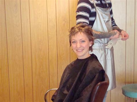 short hair cut tracy s scraps