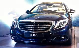 Mercedes In Mercedes S400 Launched In India Priced At Rs 1 28