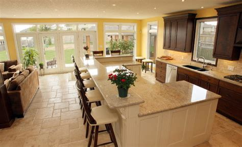 open kitchen floor plans with islands the most popular kitchen island shapes home decor help home decor help