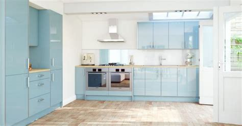 light blue kitchen cool light blue kitchen looks like a dream decoist