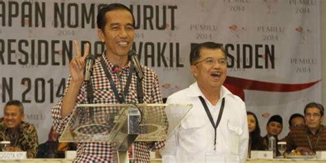 profil jokowi dan jk kpu tetapkan jokowi presiden saatnya indonesia kembali
