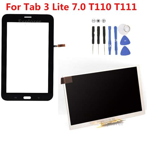 Lcd Touchscreen Samsung Tab 3 Lite discount for samsung galaxy tab 3 7 0 lite sm t110 t111 touch screen tab 4 lite t116 t113 lcd