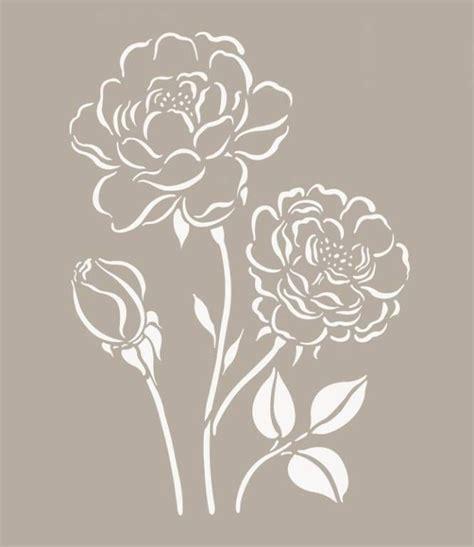stencil con fiori stencil fiori stilizzati 28 images adesivi stickers