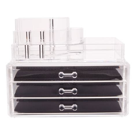 Makeup Drawer Inserts by Clear Acrylic Makeup Cosmetic Organizer Drawer