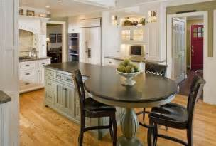 Kitchen Island Table Ideas by 37 Multifunctional Kitchen Islands With Seating