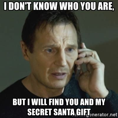 Secret Santa Meme - ronn greer secret santa memes