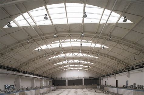 structural layout of industrial building portal frame and truss structure industrial steel