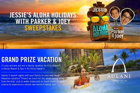 Disney Hawaiian Sweepstakes - disney aloha holidays sweepstakes sweepstakesbible