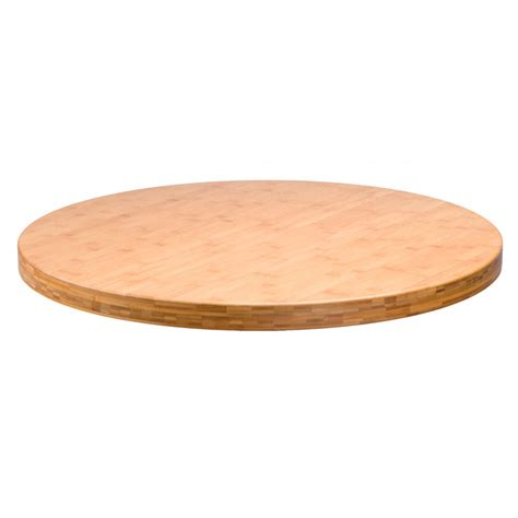 30 round bamboo table top tablebases com quality table