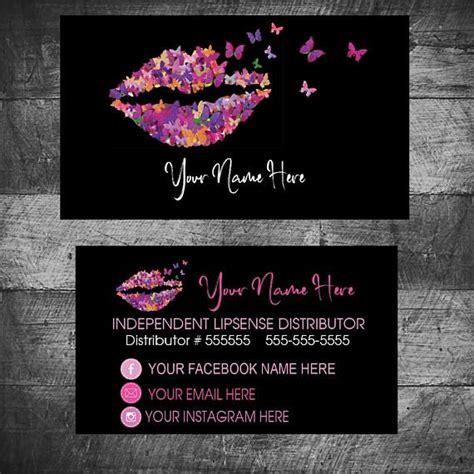 Best 25 Lipsense Business Cards Ideas On Pinterest Lip Sense Lip Sense Distributor And Senegence Business Card Template