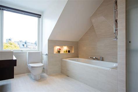 Beleuchtung Dachboden by Badezimmer Auf Dem Dachboden Viel Ruhe Mit Einer Prise