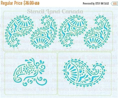 henna design cake stencil 22 best christmas holiday stencils for cake cookies and