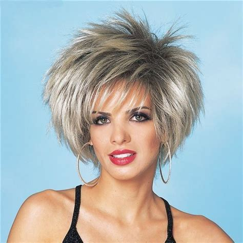 short haircuts for women over 60 stacked asymmetrical short haircuts for women spiky bob