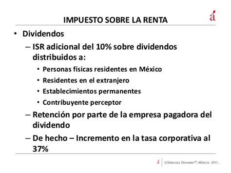 tasa del impuesto a la renta 2015 nuevas tasas del impuesto a la renta y los dividendos