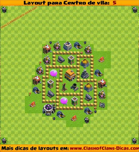 layout cv nv 5 layouts para centro de vila 5 para clash of clans clash
