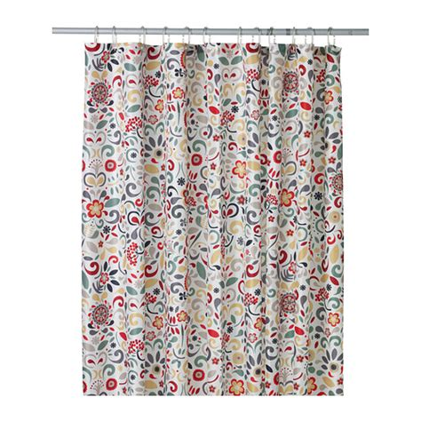 ikea shower curtain 197 kerkulla densely woven polyester