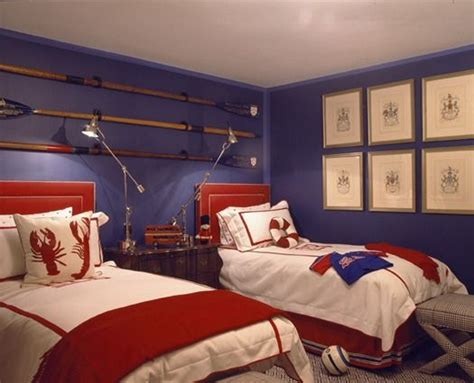 boys blue and red bedroom boy rooms red bedding and boys on pinterest