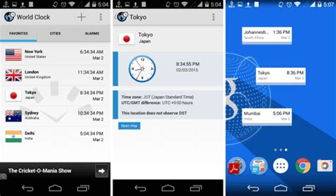 best android world clock 5 best free world clock apps for android