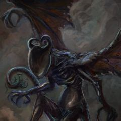 night gaunt   the h.p. lovecraft wiki   fandom powered by