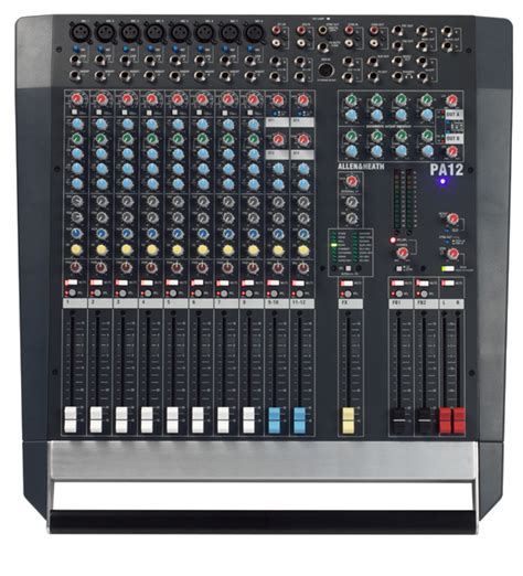 Allen Heath Mixer Live Pa28 pa12 allen heath