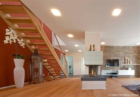 vorhänge neubau wohnzimmer landhausstil dekor
