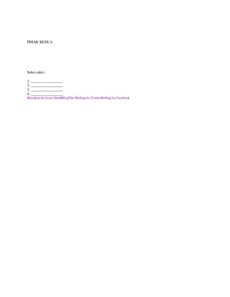 contoh surat keterangan pindah