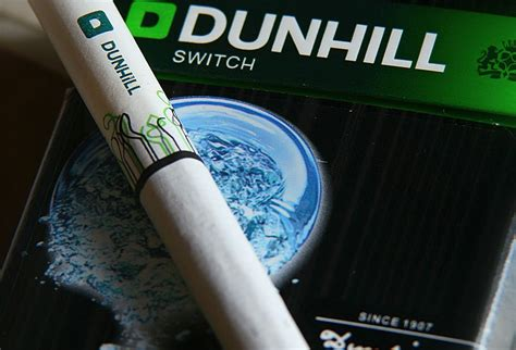 Dunhill International Menthol 20 dunhill menthol cigarettes