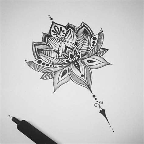 lotus flower power latest tattoo design is completed who
