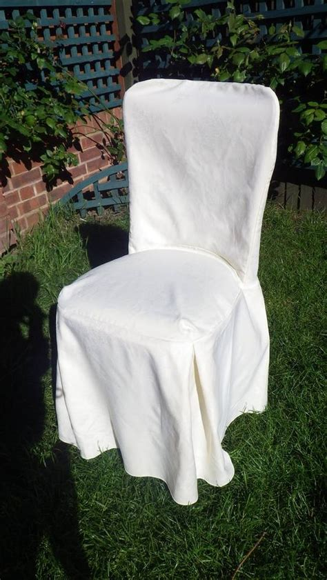 ivory chair covers secondhand catering equipment table linen and decor