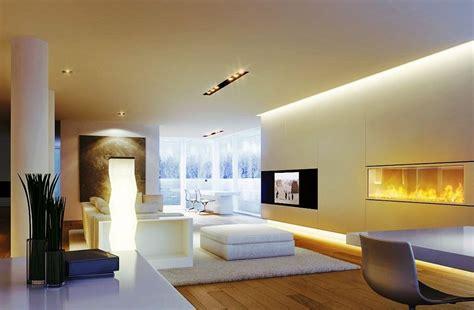 le modern wohnzimmer indirekte beleuchtung als zusatzlicht im wohnzimmer