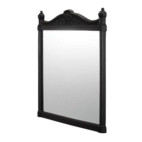 Burlington gietijzeren spiegel zwart bad exclusief