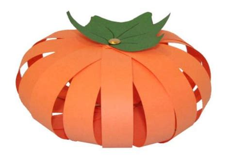 Paper Pumpkin Craft - paper pumpkin craft just call me teach