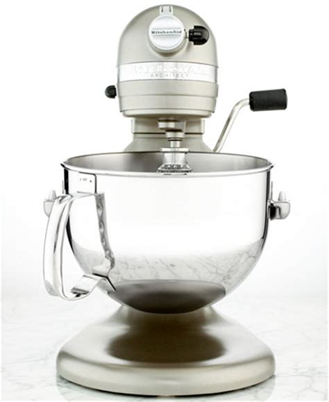 Macys Kitchen Aid by Kitchenaid Kp26m1xacs Architect 6 Qt Stand Mixer Only At