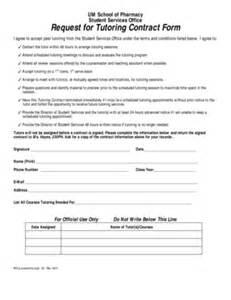 tutor contract template tutoring contract agreement form fill printable