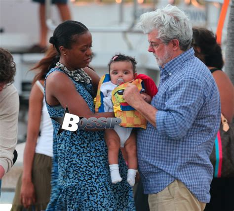 George Lucas And Wife Mellody Hobson Show Off Their