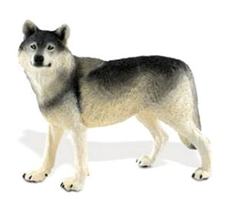 wolf toy miniature wildlife wonders  anwocom animal world