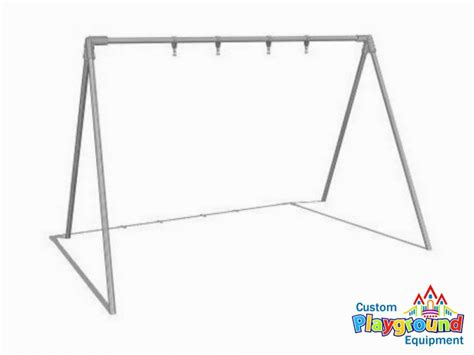 Commercial Swing Set Bipod Swing Set Frame