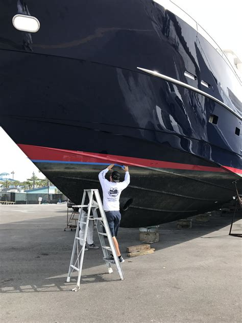 boat resale value increase your vessel resale value with fresh paint the