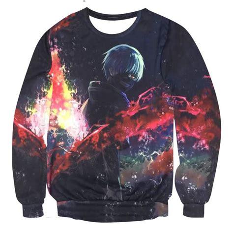 tokyo ghoul hoodie sweater kaneki ken kagune for sale