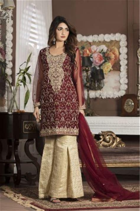 maroon bridal wear  exclusive  boutique