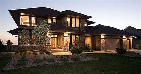 house in traditional and modern styles digsdigs plan 14469rk prairie style home plan luxury houses