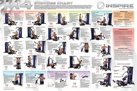 8 best images of marcy home exercise chart pdf