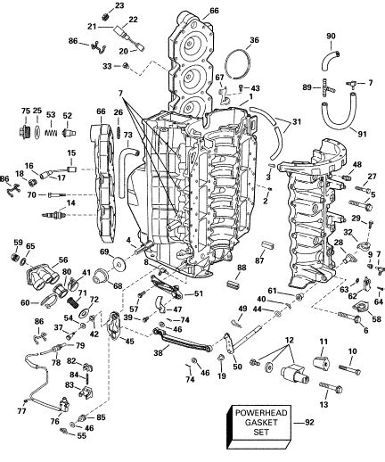 boat motor wiring diagram evinrude c2 ab all boats new