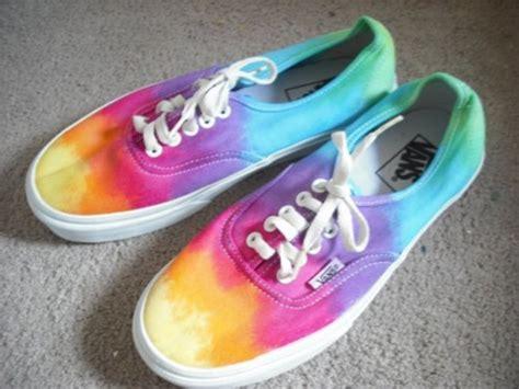 colorful vans shoes vans tie dye colorful wheretoget