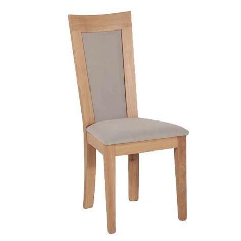 chaise tissu et bois chaise en bois et tissu rembourr 233 crocus 4 pieds