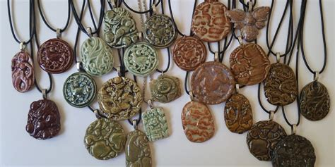 how to make ceramic jewelry how to make molded ceramic jewelry pendants and charms